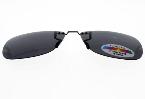 CLIP 1972 Sur-lunettes Gris polarisé Grande Taille