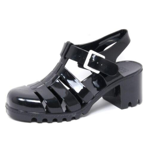 B2894 Chaussure Shoe Sandale Caoutchouc En California Of Femme Black Femme Colors 610Frq6wH
