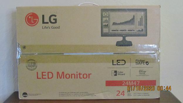 "LG 24M47VQ 24"""" 1080p LED Monitor"