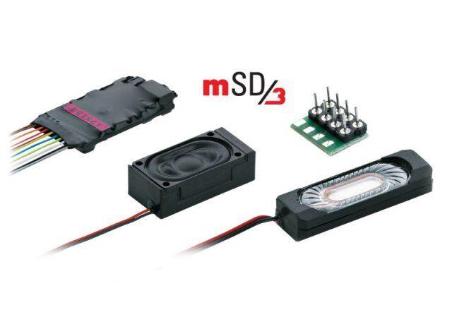 Märklin 60985 Sound-Decoder mSD 3 mit Sound einer Dampflok, Neu OVP