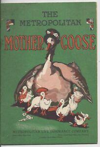 Vintage The Metropolitan Mother Goose Booklet Elizabeth Watson Emma Clark