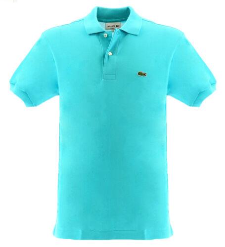 Polo classique Lacoste bleu clair pour homme Lacoste 1212XA4