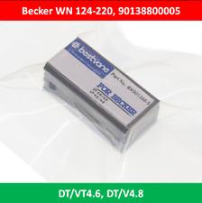 Becker Vakuumpumpe Kohleschieber Satz WN124-220  Nr.90138800005  DT//VT 4.6//4.8