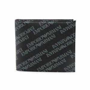 Emporio-Armani-Men-039-s-Wallet-Black-Y4R167-YLO7E