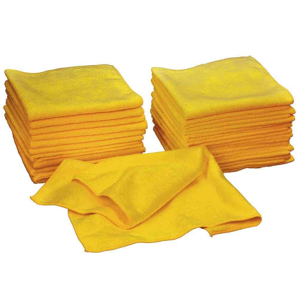 36 Kirkland Signature  Ultra Plush Microfibre Towels 16 x16  for Car Home Cloths