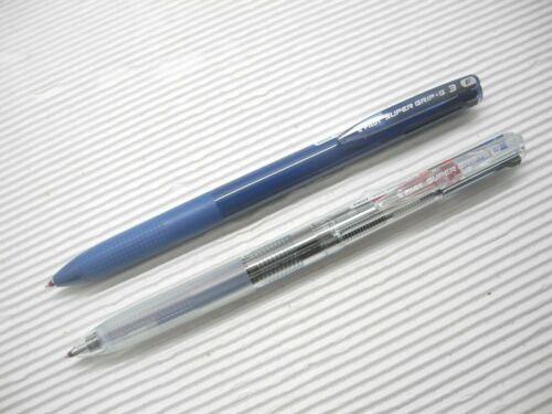 Navy /& Clear NEW PILOT Super Grip.G BPKGG-30F 3 in 1 0.7mm ball point pen Japan