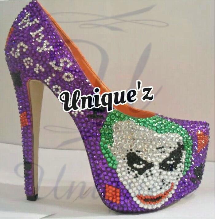 supporto al dettaglio all'ingrosso The Joker Joker Joker Heels (Dark Knight)  seleziona tra le nuove marche come