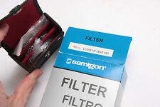 49mm Close-Up Lens Set #1,2,4 - Photo Filter Kit - Samigon - NOS G11