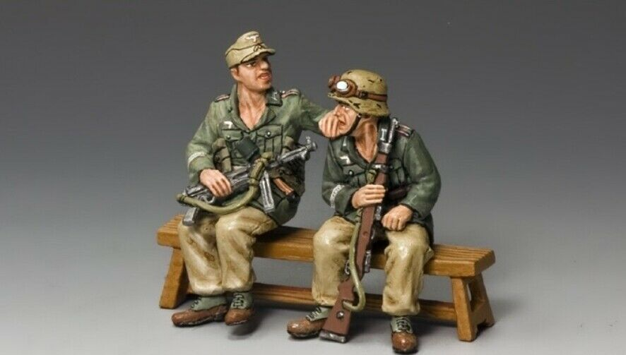 King  & Country Soldiers AK098 World World World War II Afrika Korps Demag Passengers 148