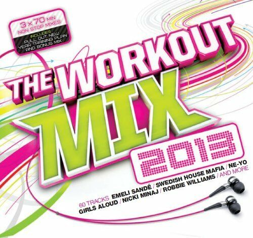 1 of 1 - Various Artists - Workout Mix 2013 - Various Artists CD 78VG The Cheap Fast Free