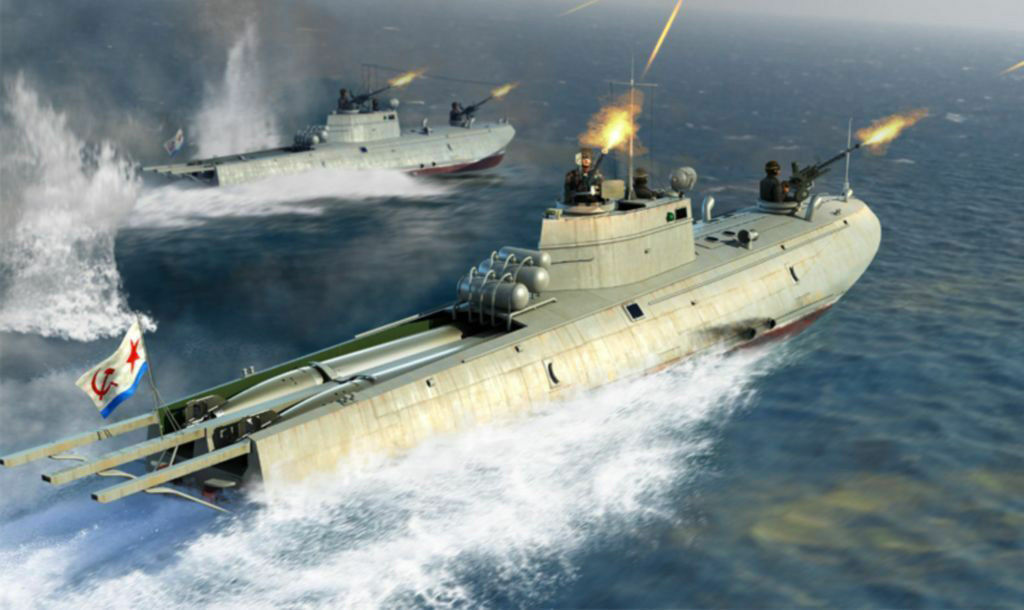 Trumpeter 63503 Soviet Navy G-5 Class Motor Torpedo Boat 1 35 Scale Static Model