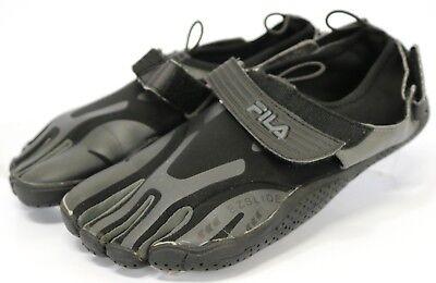 Fila Skele Toes EZ Slide $95 Men's Workout Barefoot Slip On Shoes Size 9 Black | eBay