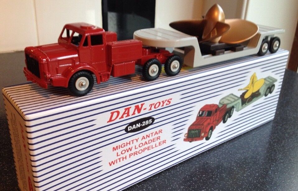 Dinky Supertoys 986 Dan Juguetes 285 Mighty Antar con hélice, magnífico Ltd 500