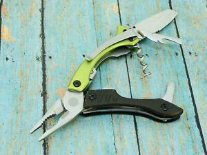 ORIGINAL GERBER CRUCIAL FOLDING MULTI TOOL PLIERS POCKET KNIFE KNIVES TOOLS