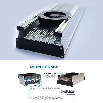 6 in MakersLED DIY aluminum heatsink only - ding/dent