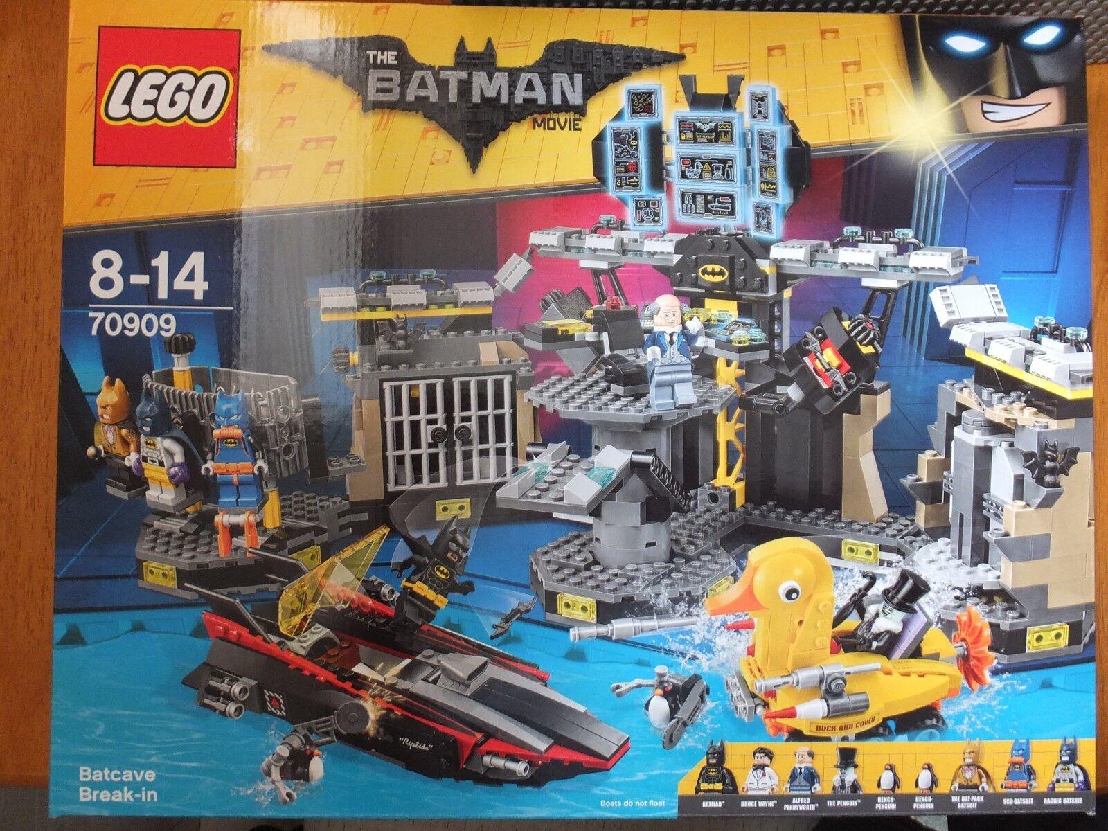 Lego 70909 The Batman Movie Batcave Break In Set