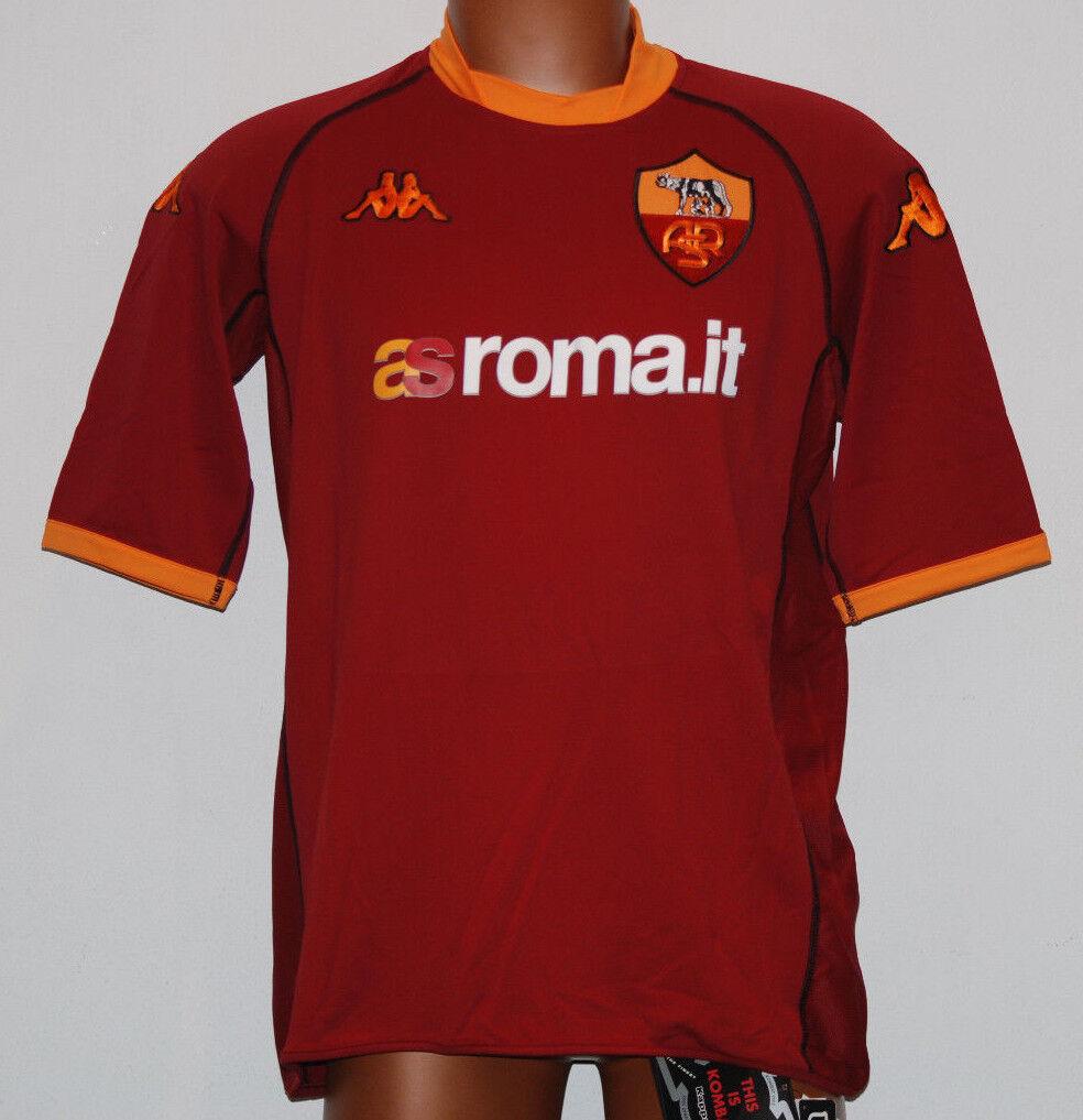 Maglia AS Roma Totti precampionato NUOVA  2002 2003 XXL asroma  KAPPA JERSEY