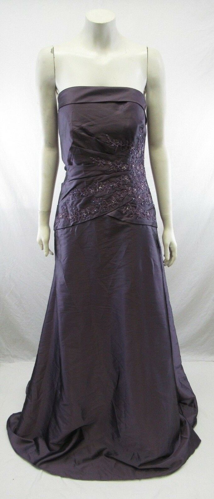 6531cd6e2f5 NWT Jade by Jasmine Formal Gown Evening Dress X-Length Purple pink Size 14  PD61