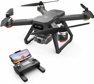 DEERC D15 GPS Drone with 4K UHD EIS Anti-Shake Camera 5G Brushless RC Quadcopter