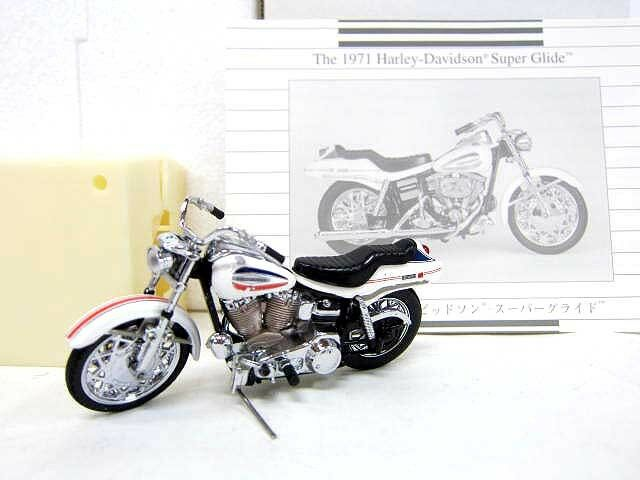 Franklin Mint 1 24 The 1971 Harley-Davidson  Super Glide  Vintage Toy Vehicle