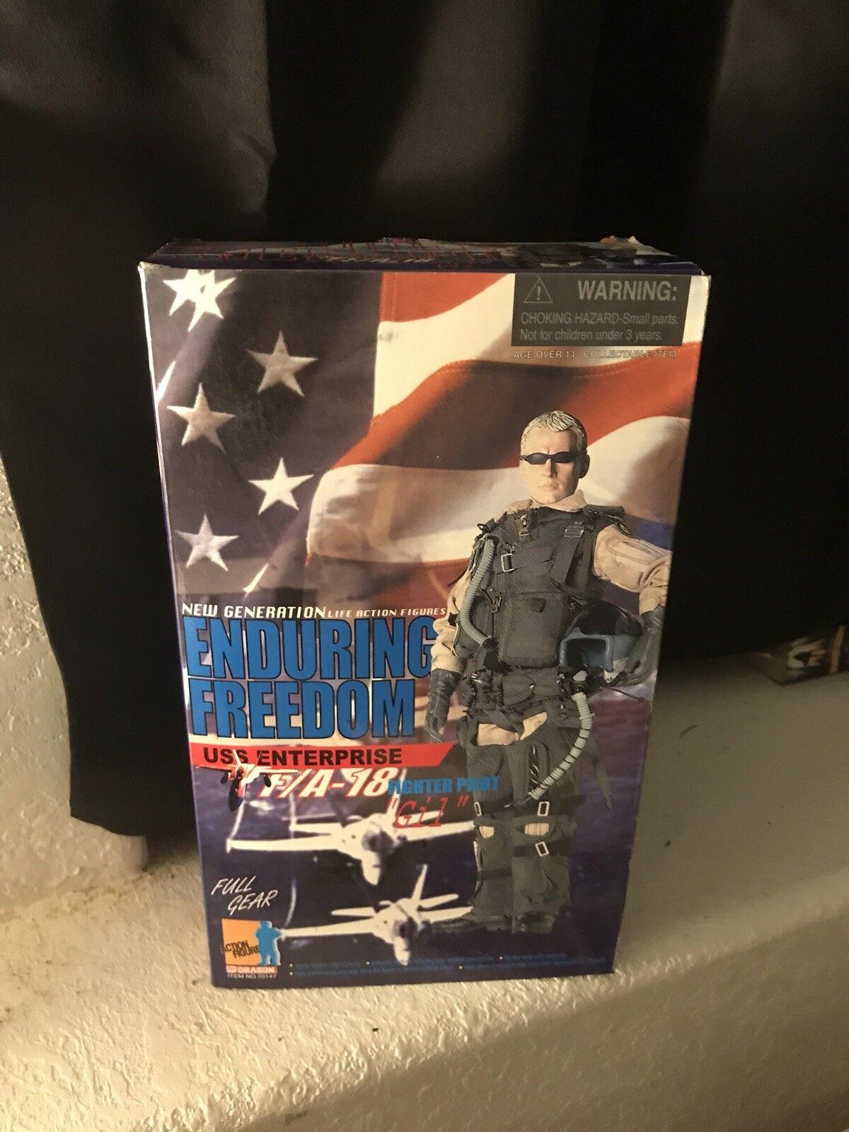 """Dragon Action Figurr F117A Night Hawk """"Moondog"""""""