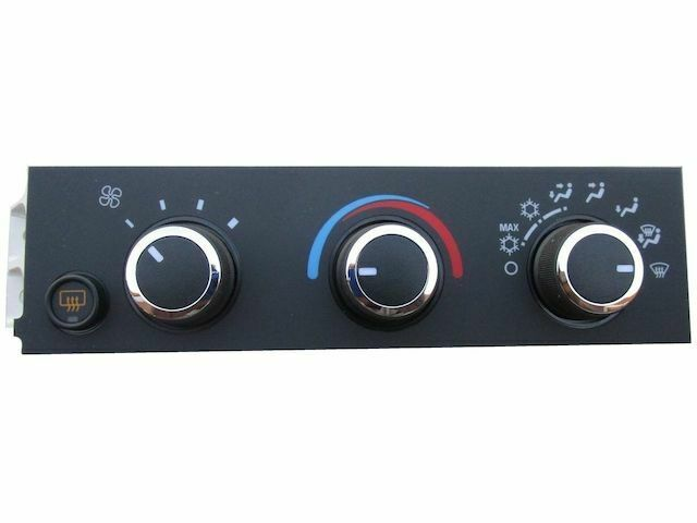 For 2009-2016 Chevrolet Express 4500 HVAC Control Panel AC Delco 92617SK 2010
