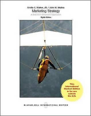 1 of 1 - Marketing Strategy: a Decision-Focused Approach by Orville C. Walker, John W. Mu