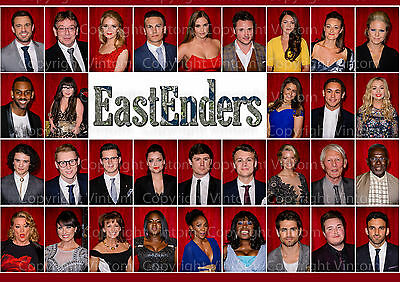 Emmerdale 2016 Cast Poster Picture Photo Print A2 A3 A4 7X5 6X4