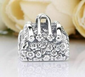 f64afa0b8 925 Silver Disney Mary Poppins handbag bag Charm 4 branded bracelets ...