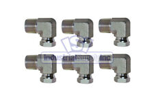 x 3//8 Female Pipe .675-18 Threads .540-18 Threads 90/°- Street Elbow AF C3409-04-06-1//4 Male Pipe