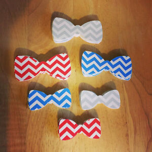 Details about Chevron Bow Tie cut outs (Variety of Colors and Sizes ...