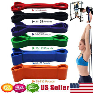 Resistance Bands Pull Up Heavy Duty Set Assisted Exercise Tube Home Gym Fitness`