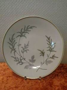 VEB-Lichte-Porcelana-Diseno-Platos-Vintage-Alrededor-De-1950-60-29CM-DDR