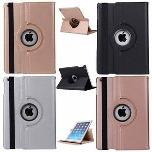 360-Rotating-Smart-Stand-Leather-Case-Cover-For-iPad-5th-6th-Gen-Mini-Air-2-Pro