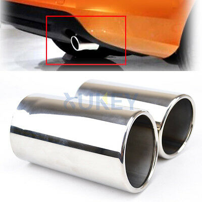 FOR 2011 2012 2013 VOLVO S60 V60 XC60 EXHAUST MUFFLER TIP TAIL PIPE END TRIM