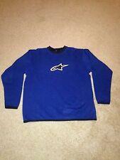 Alpinestars Sweater Racing Ahead Color Blue Size M.