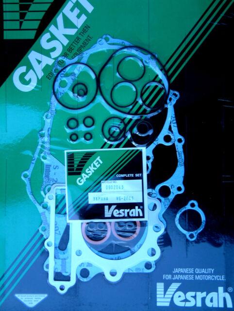 1982-83 VG-6025 VESRAH TOP END Gasket set kit Yamaha XZ550 RJ//RK VISION V-Twin