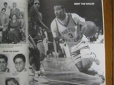 DANA BARROS/JIM O'BRIEN Signed 1988-89 Boston College Basketball Guide(22 Signed