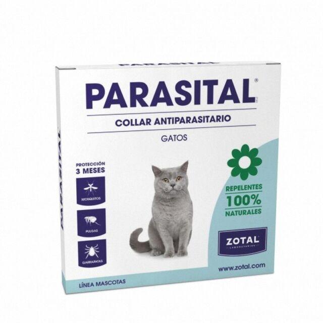 PARASITAL COLLAR REPELENTE GATOS PROTECCIÓN 3 MESES 000185     ORIGINAL