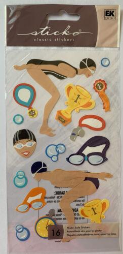Sticko Swim Team Stickers