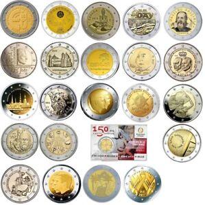 2 Euro Commemorative 2014 (complete Lot 23 Pieces) Laissons Nos Produits Aller Au Monde