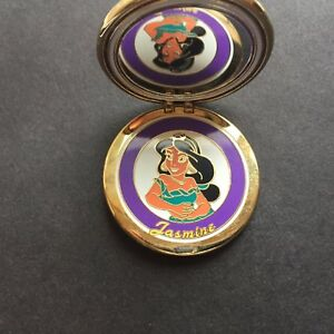 WDW-Sparkle-Compact-Series-Jasmine-Very-RARE-and-Hard-to-Find-Disney-Pin-45442