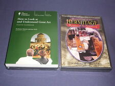 Teaching Co Great Courses DVDs      HOW to LOOK at UNDERSTAND GREAT ART  + bonus