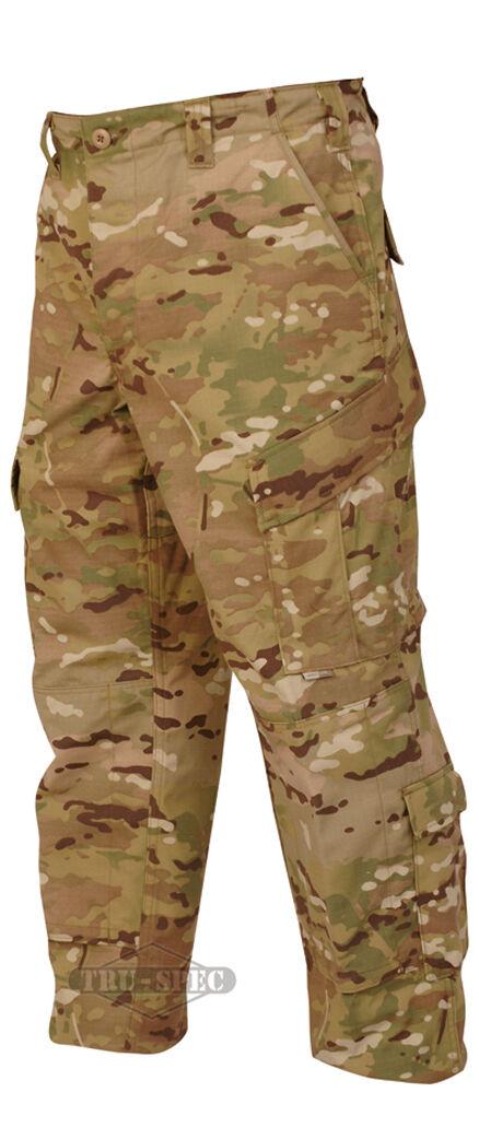 Multicam Camo Acu pantalón táctico de respuesta uniforme por Tru-Spec 1299