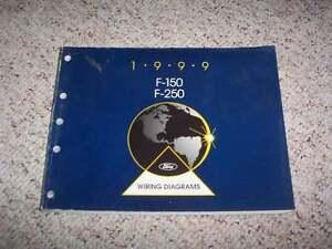 1999 Ford F-150 F-250 Electrical Wiring Diagram Manual XL ...