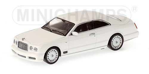 Bentley Brooklands 2006 White 1:64 Model MINICHAMPS
