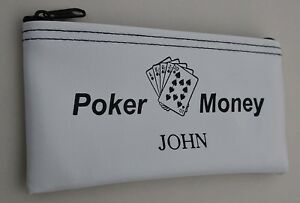 Game Bag Personalized Poker Bag Game Pouch Custom Game Bag Personalized Zipper Pouch Personalized Game Case Pouch Bags