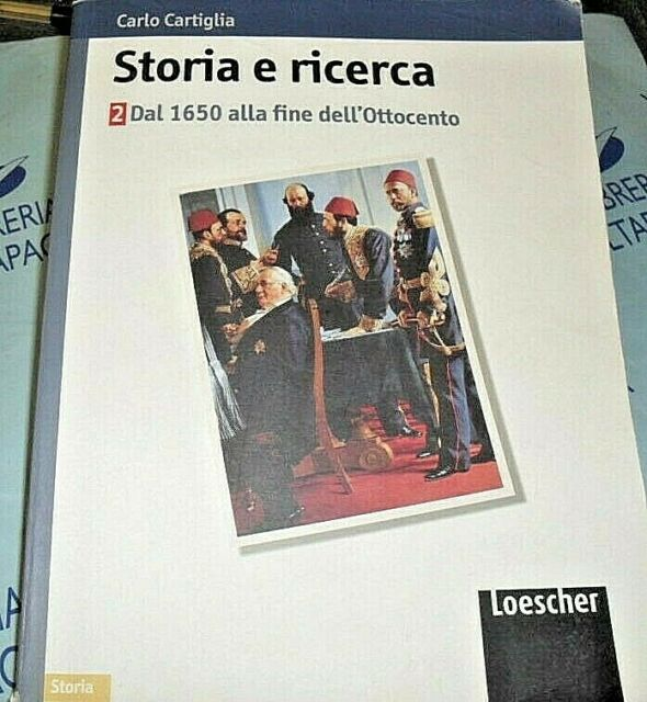 STORIA E RICERCA VOL.2 - CARLO CARTIGLIA - LOESCHER