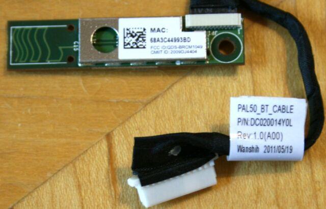 FR1V3 G9M5X Genuine Dell Latitude E6420 Bluetooth Module Board w// Cable FR1V3