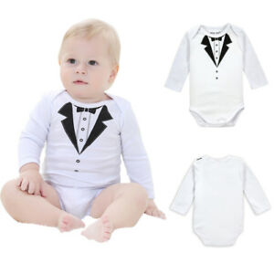 Baby Boy Girl Jumpsuit Baseball Vintage Cool Infant Long Sleeve Romper Jumpsuit